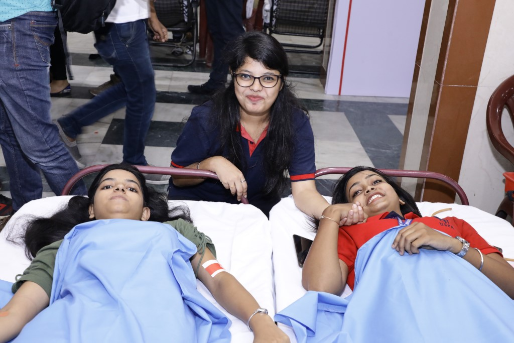 Heart of Gold blood drive